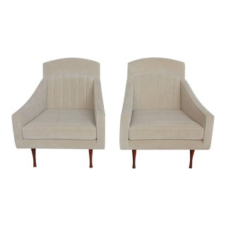 1960's Vintage Paul McCobb Lounge Chairs For Sale