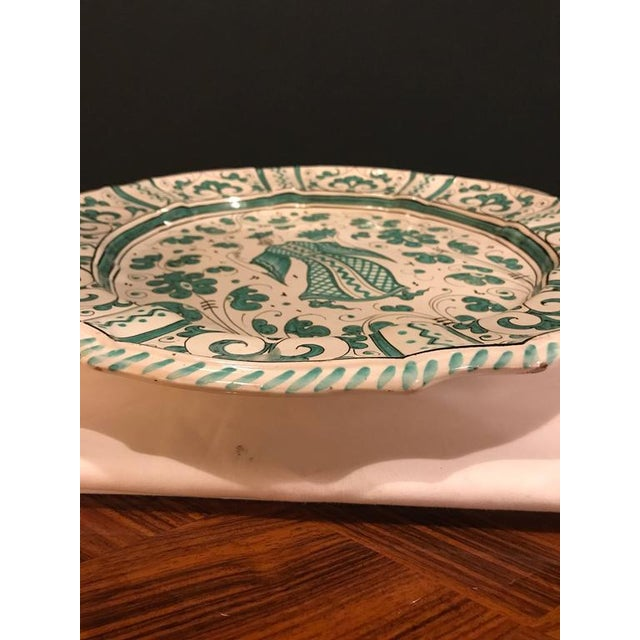 Italian Paint Decorated Platter For Sale - Image 9 of 12