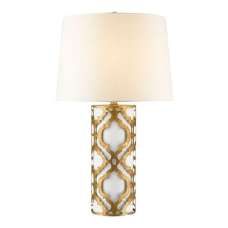 Contemporary Arabella Gold Table Lamp For Sale