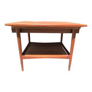 1960's Moreddi Mid-Century Modern Teak End Table For Sale