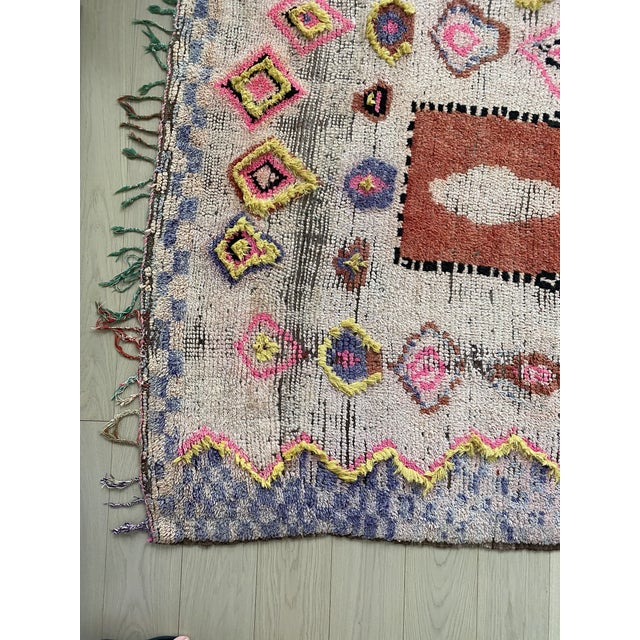 Islamic 1970s Vintage Moroccan Rug For Sale - Image 3 of 11