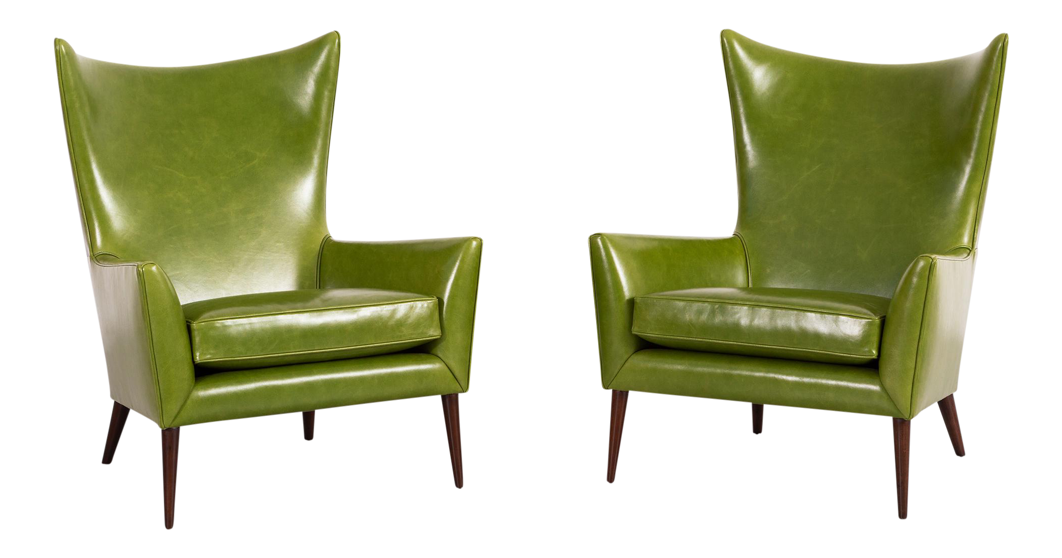 Set Of Paul McCobb For Custom Craft Lounge Chairs For Sale