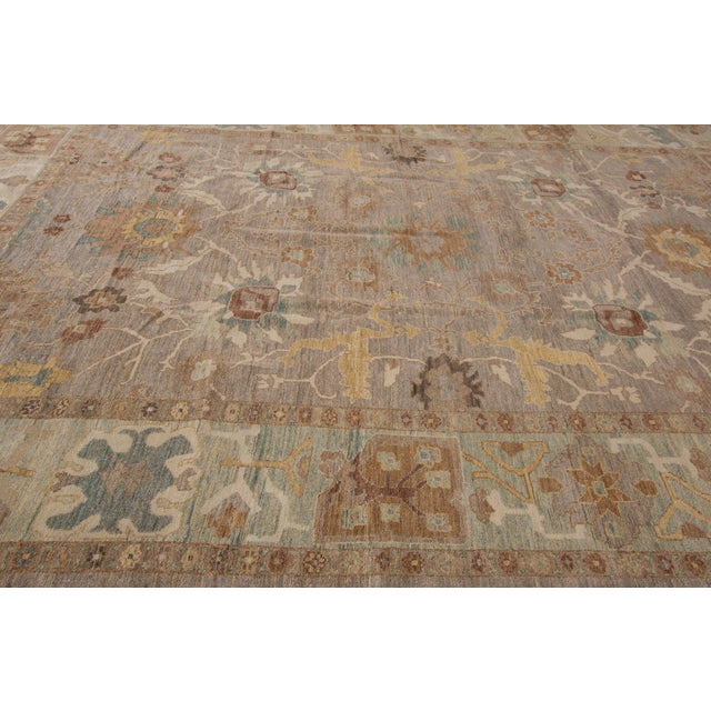 Persian Sultanabad Rug - 10' x 14' For Sale - Image 4 of 4