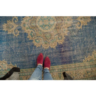"Vintage Distressed Oushak Carpet - 7' X 10'2"" Preview"