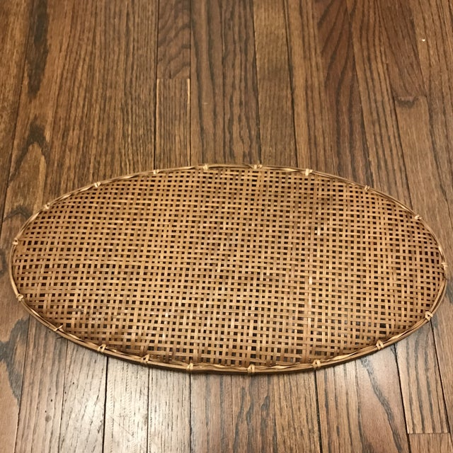Woven Winnowing Tray For Sale - Image 4 of 5