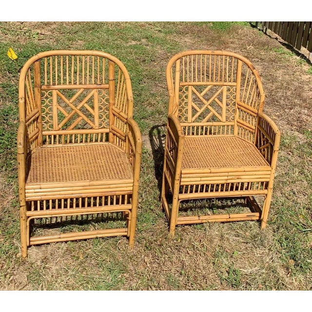 Antique Chinese Bamboo Chairs - A Pair For Sale - Image 13 of 13