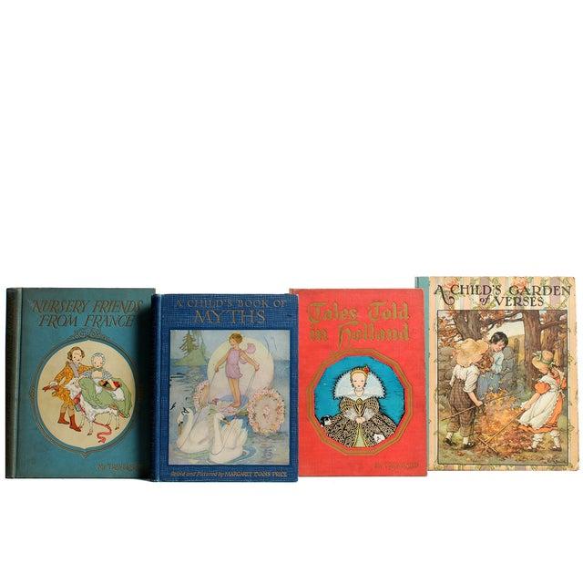 Children's Vintage Nursery Stories Books - Set of 4 For Sale - Image 3 of 3