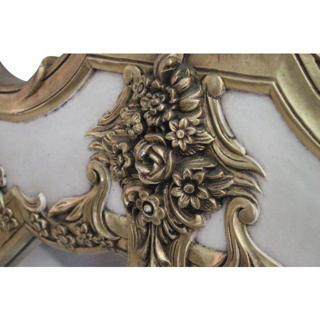 Venetian Barbola Mirror - Image 3 of 3