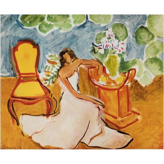 "1946 Henri Matisse, ""Girl in the White Dress"" Original Parisian Period Lithograph For Sale In Dallas - Image 6 of 8"