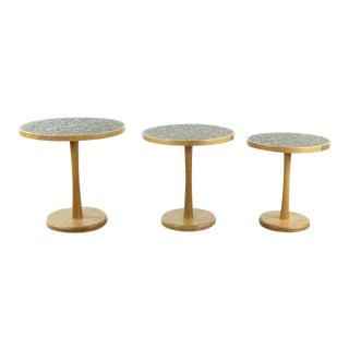 Contemporary Gordon Martz Nesting Tables - Set of 3 For Sale