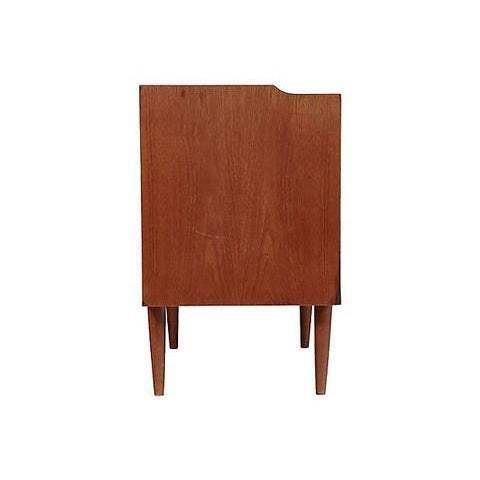 Glass 1960s Danish Teak Vanity Cabinet For Sale - Image 7 of 8