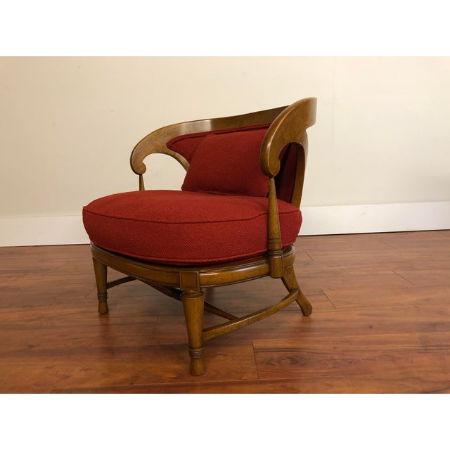 Tomlinson Sophisticate Vintage Occasional Chair For Sale - Image 9 of 13
