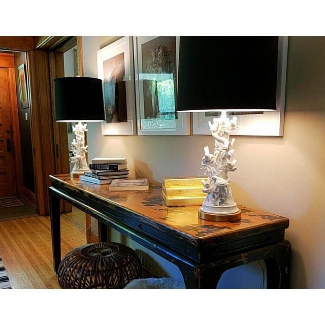 Mid Century Marbro Blanc De Chine Table Lamps - a Pair For Sale In Chicago - Image 6 of 12