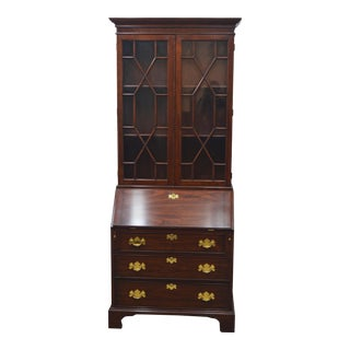 Henkel Harris Cherry Secretary Desk For Sale