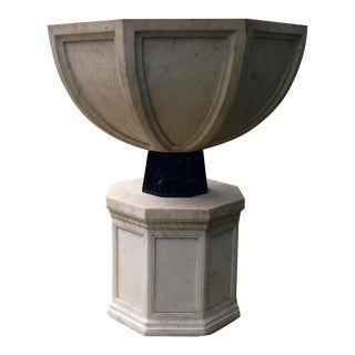 1920s Marble Baptismal Font For Sale