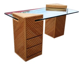 Image of Rattan Writing Desks