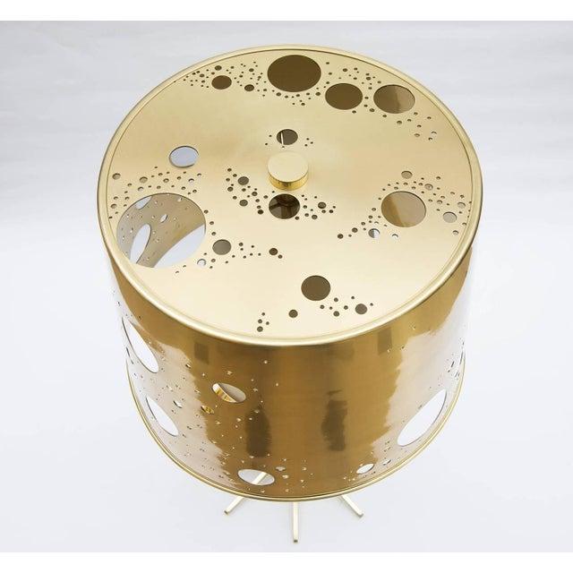 "Roberto Giulio Rida Pair of Roberto Giulio Rida ""Lattea"" Table Lamps For Sale - Image 4 of 12"