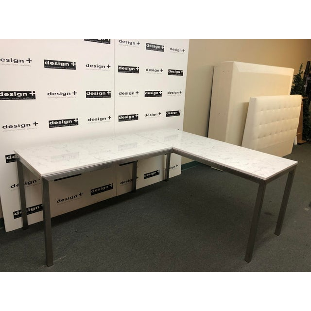 Design Plus Gallery presents the Portica Desk from Room & Board. The classic Portica L-shaped corner desk offers the clean...