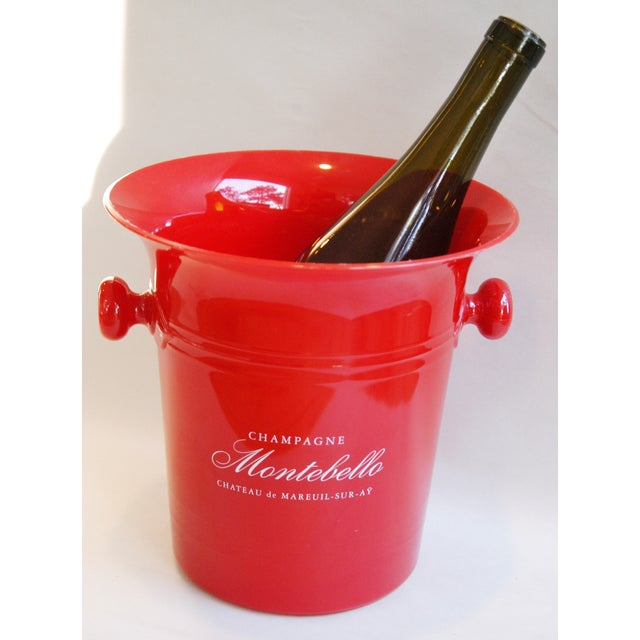 Vintage French Montebello Ice Bucket For Sale In Los Angeles - Image 6 of 7