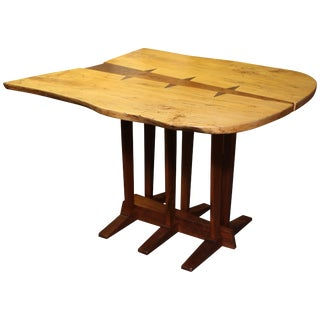 Large Nakashima Inspired Table by Paul Sarochuck For Sale