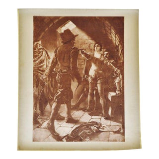 1899 Photogravure of William de Leftwich Dodge's Fidelio Opera Painting For Sale
