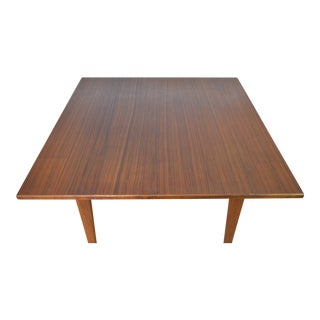 Jens Risom Designs Mid Century Danish Modern Walnut Occasional Table For Sale