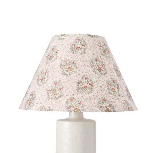 This lampshade features our Cassis Floral pattern in Rouge. The sweet posy pattern and stippled ground of Cassis Floral...