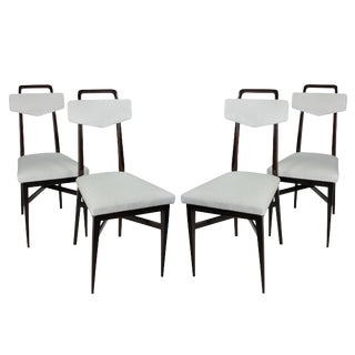 Four Italian Breakfast Chairs For Sale