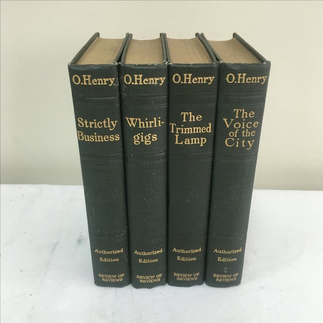 Antique 1900s O. Henry Books - Set of 4 - Image 2 of 6