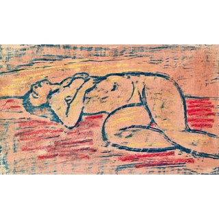 Wedo Georgetti, Reclining Nude For Sale