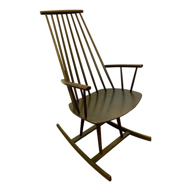 Danish Mid Century Mobler Rocker Rocking Chair For Sale
