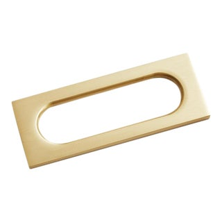 Nest Studio Collection Mod-04 Satin Brass Handle For Sale