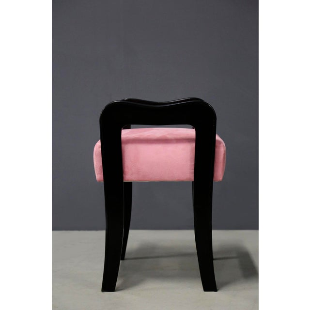 Pair of MidCentury Italian Stools Attributed to Paolo Buffa, 1950s For Sale - Image 9 of 10