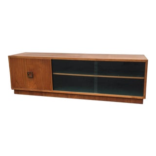 Mid-Century Modern Teak Sideboard or Tv Credenza For Sale