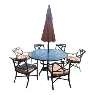 Tropitone Patio Dining Set For Sale