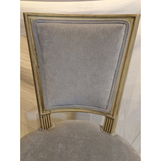 Louis XVI Style Painted Chairs - Set of 6 For Sale - Image 6 of 9