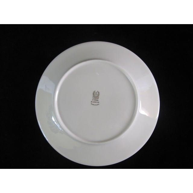 Lenox Lenox Ecru China Gold Rim Eternal Salad Plates - Set of 6 For Sale - Image 4 of 6