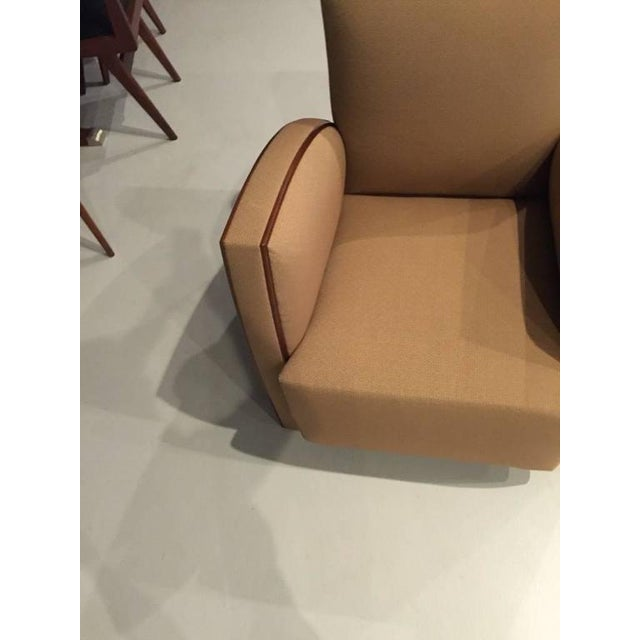 French Art Deco Club Chairs - A Pair - Image 6 of 9