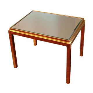 Willy Rizzo Style Side Table For Sale