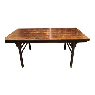 Certified Ming Dynasty Painting Table For Sale