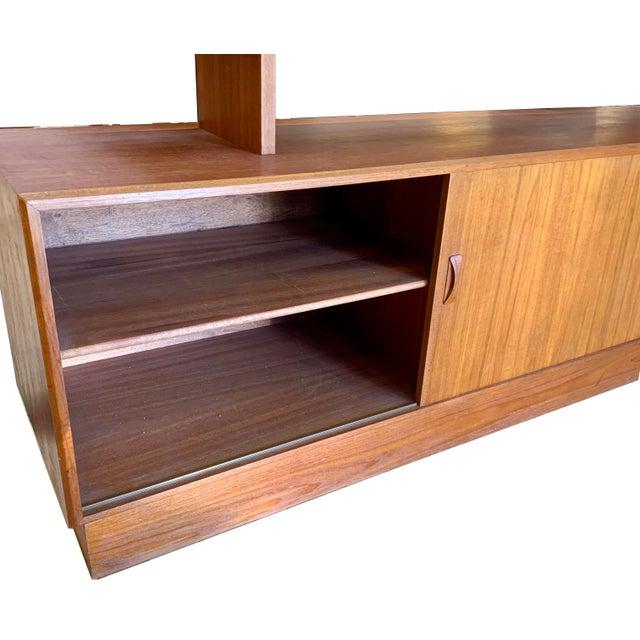 1960s 1960s Clausen & Søn Danish Modern Teak Hutch For Sale - Image 5 of 13