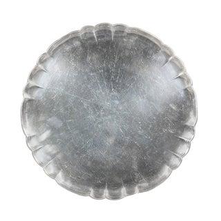 Georg Jensen Sterling Circular Tray For Sale