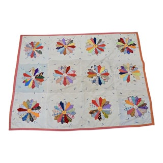 Vintage Hand Made Quilt c.1950s