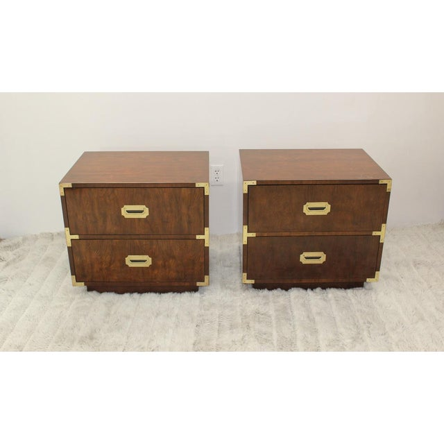 Mid Century Modern end tables/nightstands - a Pair - Image 11 of 11