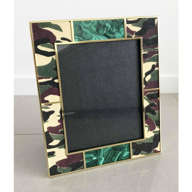 Early 21st Century Camoflauge Shagreen Photo Frames For Sale - Image 5 of 10