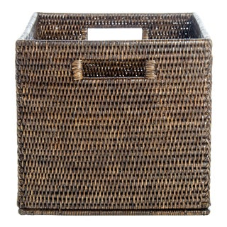 Artifacts Rattan Storage Box For Sale