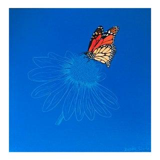 "Original ""Summer Flight"" Acrylic Painting"