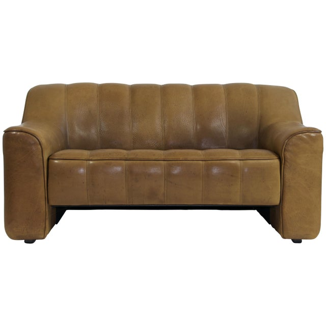 Brown De Sede Ds44 Leather Sofa For Sale - Image 8 of 8