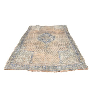 Early 20th Century Antique Oushak Waterloo Design Rug - 11′9″ × 15′5″ For Sale