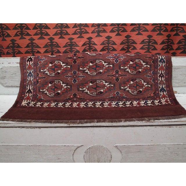 "Antique Turkmen ""Chuval"" For Sale - Image 4 of 7"